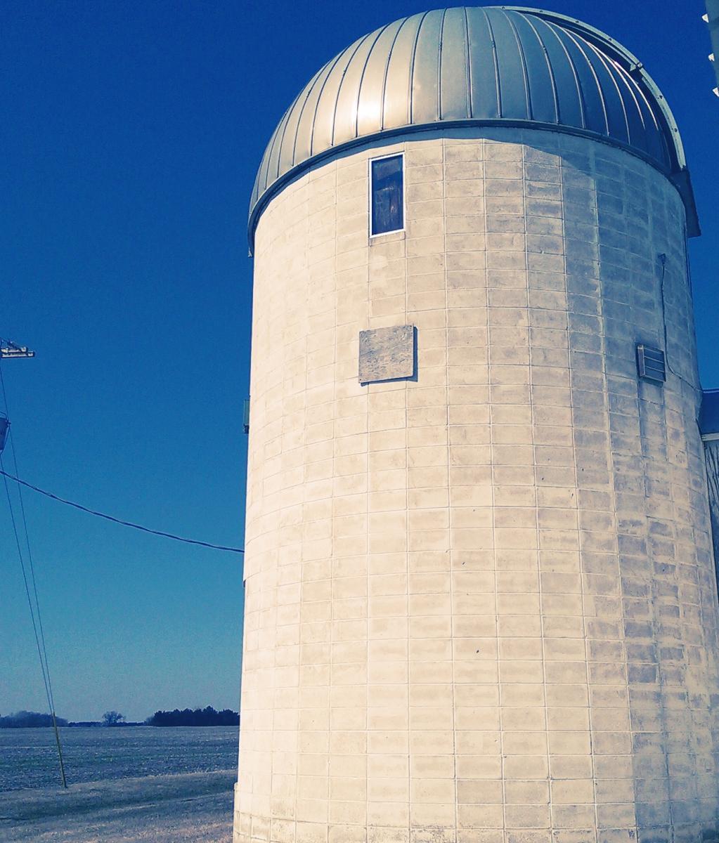 Behlen Observatory exterior